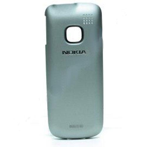 Klapka baterii do telefonu komórkowego Nokia C1-01 0257127 (szara),0