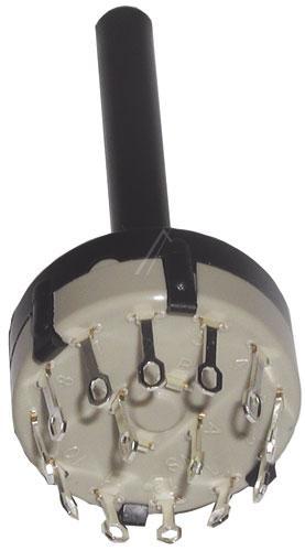 przełącznik 2pol/6 pozycji - obrot,0