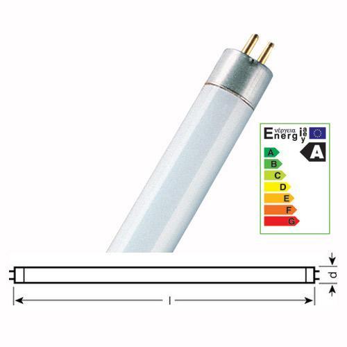 Świetlówka liniowa G5 24W Osram T5 lumilux (biały zimny),0