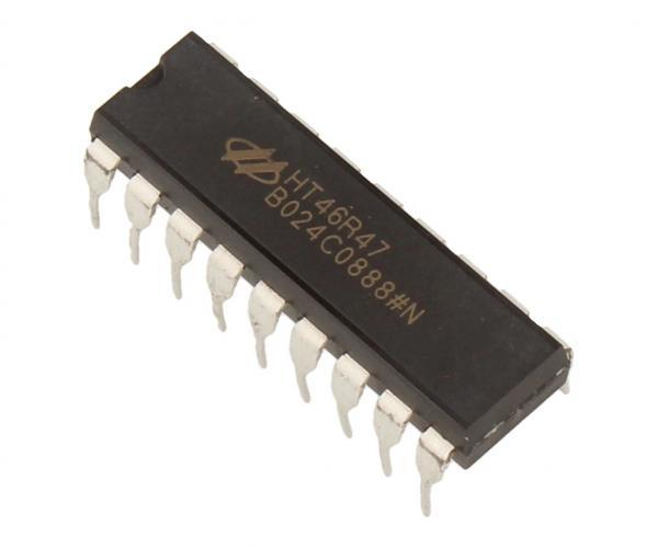 HT46R47 Układ scalony IC,0