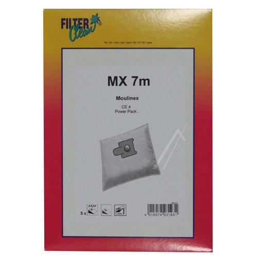 Worek do odkurzacza MX7M 5szt. (+filtr) FL0083K,0