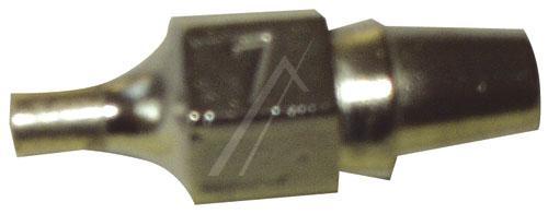 T0051314799 DX117 SAUGDÜSE 1,5MM-2,9MM LÄNGE 23MM VEREDELT WELLER,0