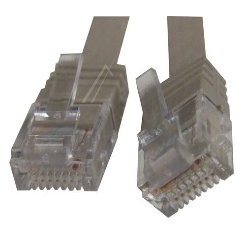 Kabel CAT-6 1m (wtyk/ wtyk) | (RJ-45/skrętka),0