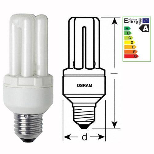 Żarówka | Świetlówka energooszczędna E27 30W Osram Dulux intelligent longlife (biały ciepły),0