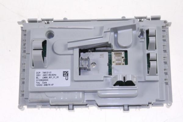Moduł elektroniczny skonfigurowany do pralki 480112101576,0
