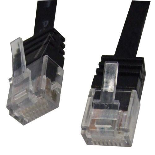 Kabel CAT-6 5m (wtyk/ wtyk)   (RJ-45/skrętka),0
