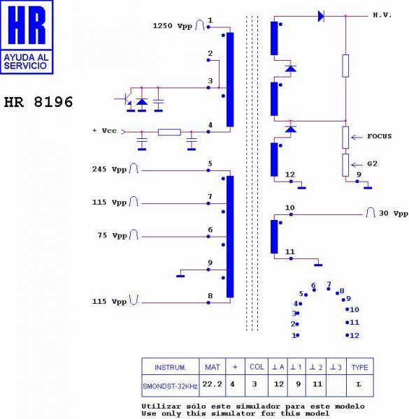 HR8196 Trafopowielacz | Transformator,0