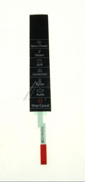 Klawiatura membranowa panelu sterowania do mikrofalówki Panasonic Z630Y6Y40SBP,0