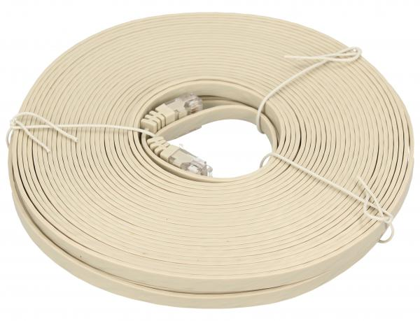 Kabel CAT-6 15m (wtyk/ wtyk) | (RJ-45/skrętka),0