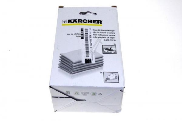 63693570 zestaw ściereczek do czyszczenia KÄRCHER,0