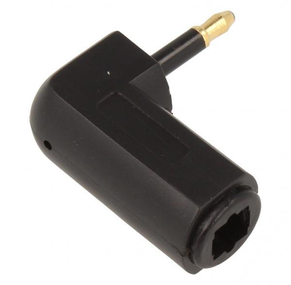 Adapter optyczny TOSLINK - JACK (gniazdo/3.5mm wtyk),0