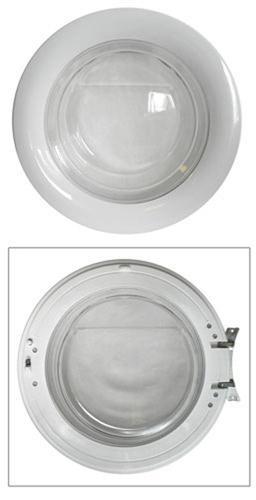 Drzwi kompletne z zawiasem do pralki Candy 91670645,0