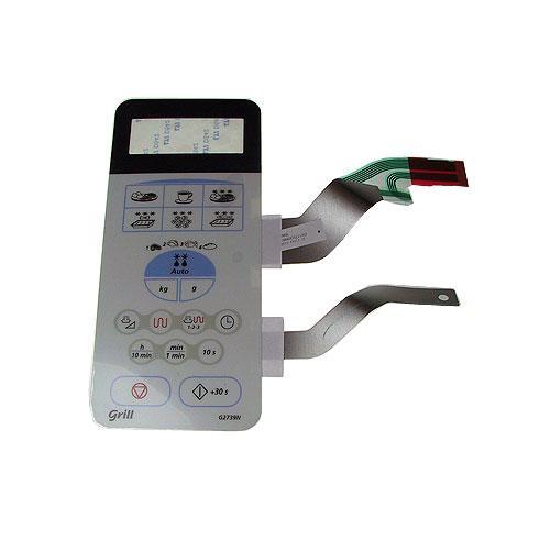Klawiatura membranowa panelu sterowania do mikrofalówki Samsung DE3400115B,0