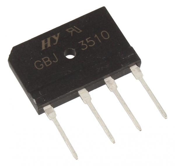 GBJ3510 GBJ3510 Mostek prostowniczy 1000V 35A SIL,0