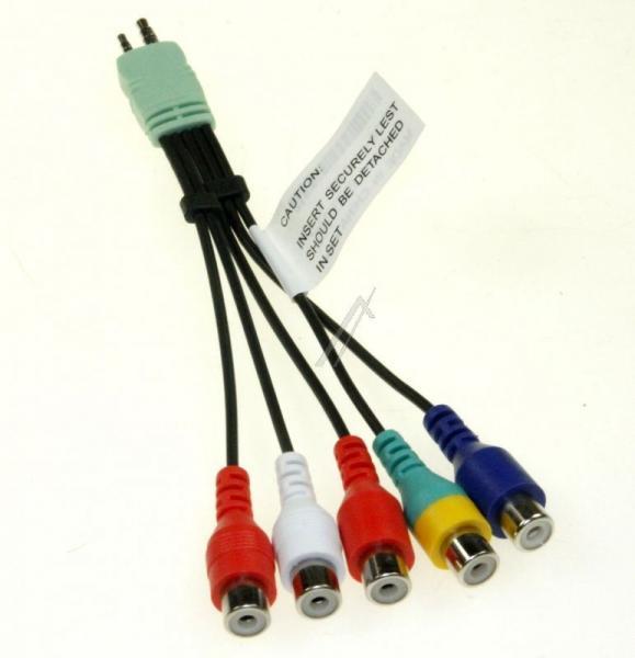 Kabel JACK - CINCH (wtyk/ gniazdo x5) BN3901154W,0