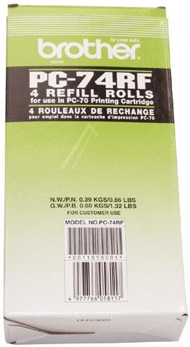 PC74RF THERMOROLLE 4ER-PACK BROTHER BROTHER,0