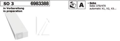 Worek SO3 do odkurzacza 5szt. - oryginał: 000715K,0