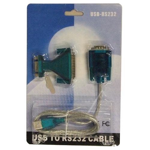 Kabel COM 9 pin - USB (wtyk/ A wtyk),0