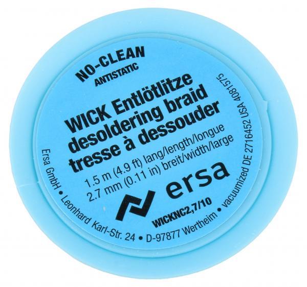 2.7mm Taśma do rozlutowywania ERSA (1.5m),0