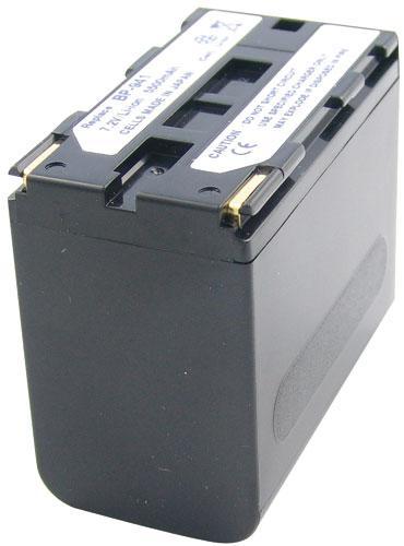 CAMCA72041 Bateria | Akumulator 7.2V 6600mAh do kamery,0