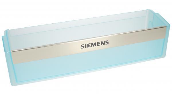 Balkonik   Półka na butelki na drzwi chłodziarki do lodówki Siemens 00433882,0