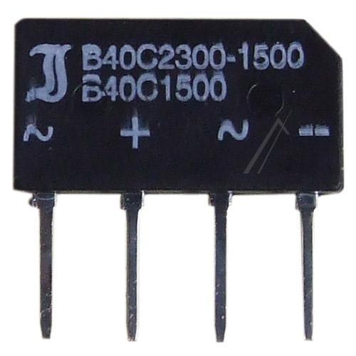 B40C2300-1500 Mostek prostowniczy 40V 1.5A,0