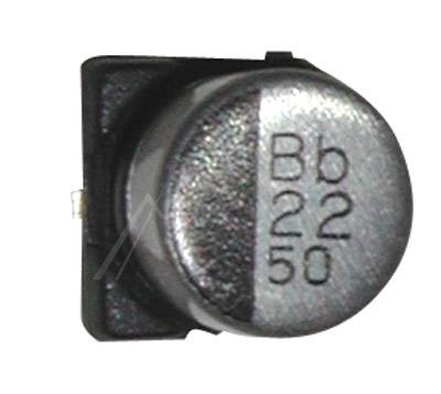 22uF | 50V Kondensator elektrolityczny 105°C SMD 6mm/6mm,0