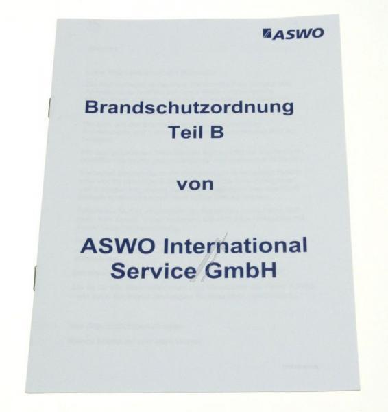 BRANDSCHUTZVERORDNUNG TEIL B/ ASWO,0