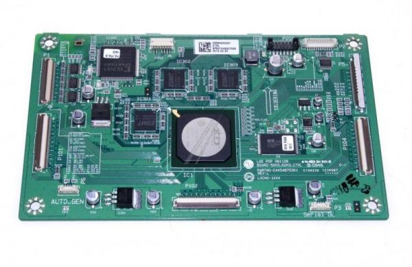 EBR63280301 BEDIENTEILPLATINE LG,0