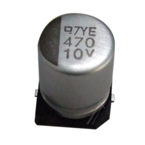 470uF | 10V Kondensator elektrolityczny 105°C SMD 10.2mm/8mm,0