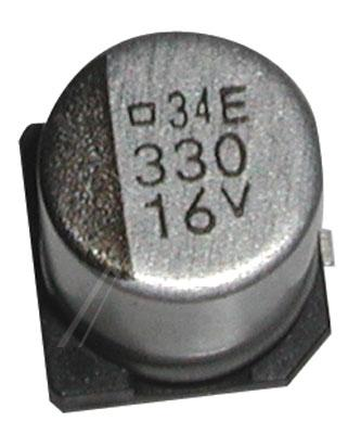 330uF | 16V Kondensator elektrolityczny 105°C SMD 10.2mm/8mm,0