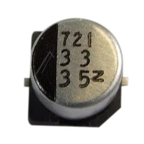 33uF   35V Kondensator elektrolityczny 105°C SMD 6mm/6.3mm,0