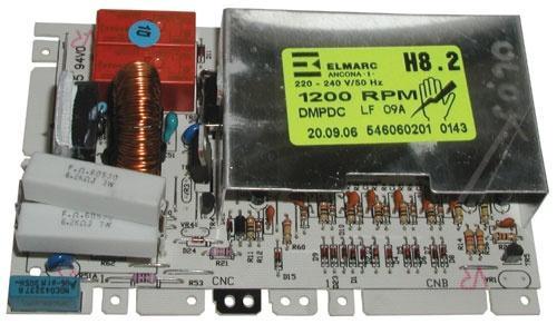 Moduł elektroniczny skonfigurowany do pralki Ardo 546060200,0