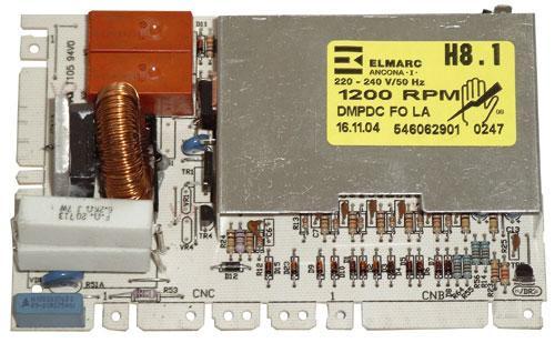 Moduł elektroniczny skonfigurowany do pralki 546062900,0