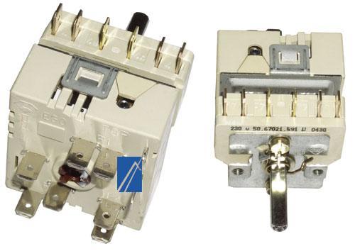Regulator energii dwuobwodowy do kuchenki Siemens 00422608,0