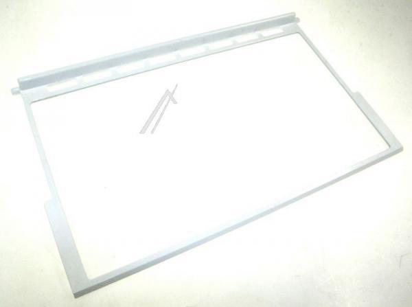 Szyba | Półka szklana górna kompletna do lodówki 481245819179,0
