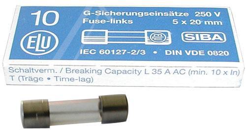 0.05A 250V Bezpiecznik zwłoczny (20mm/5mm),0