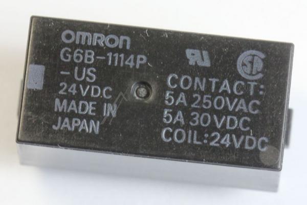 G6B1114PUSDC24 24VDC5A250VAC RELAIS, 1 SCHLIESSER OMRON,0