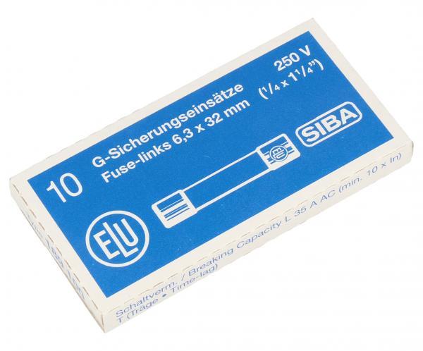 4A 250V Bezpiecznik zwłoczny (32mm/63mm) 10szt.,0