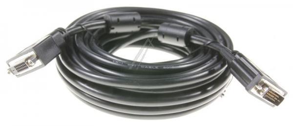 Kabel DVI 10m 24+5 (gniazdo/ 24+1 wtyk),0