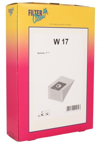 Worek W17 do odkurzacza 5szt.,0