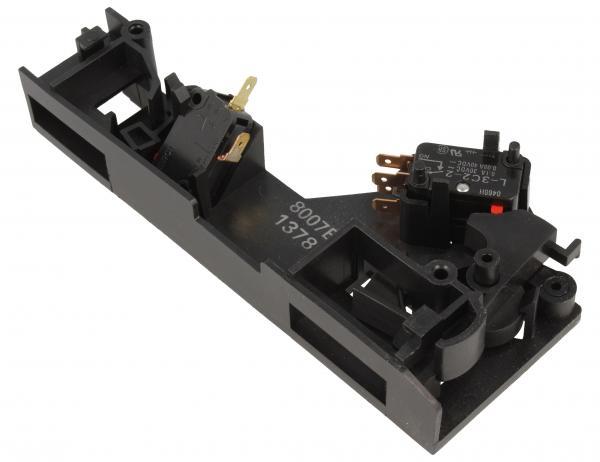 Zatrzask | Zamek drzwiczek kompletny do mikrofalówki Panasonic E393C8002BP,0