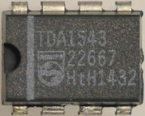 TDA1543 Układ scalony IC,0