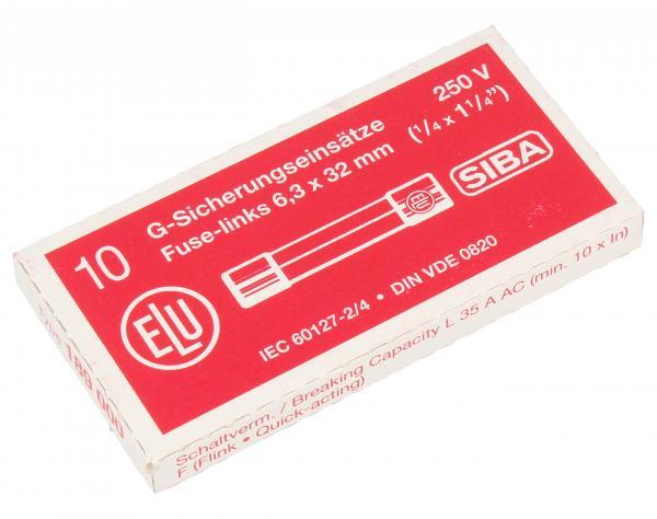 16A 250V F Bezpiecznik szybki (32mm/6.3mm) 10szt.,0