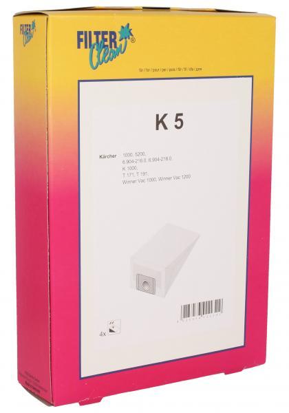 Worek do odkurzacza K5 Karcher 4szt. 000728K,0