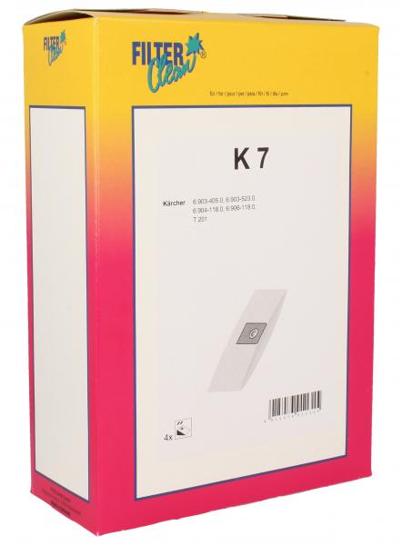 Worek do odkurzacza K7 4szt. 000752K,0