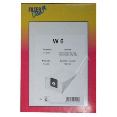 Worek W6 do odkurzacza 3szt.,0