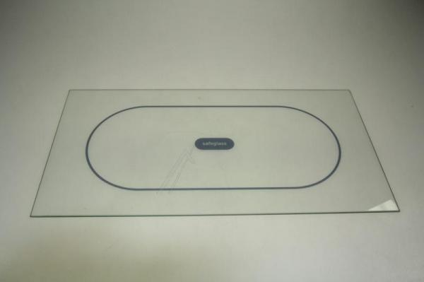 Szyba | Półka szklana chłodziarki (bez ramek) do lodówki Whirlpool 481245088174,0