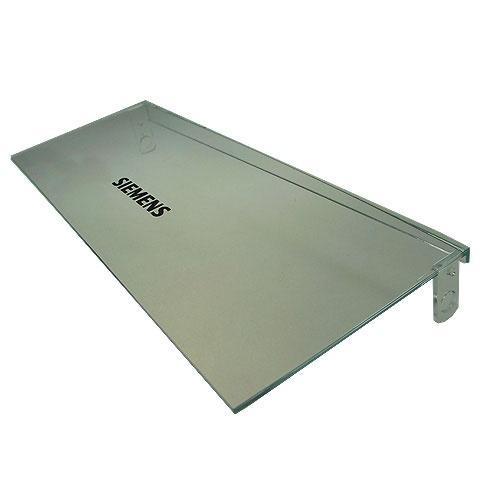 Pokrywa małej półki na drzwi chłodziarki prawa do lodówki Siemens 00493917,0