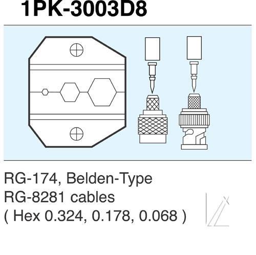 Wkładka do zaciskarki 1PK3003D8,0